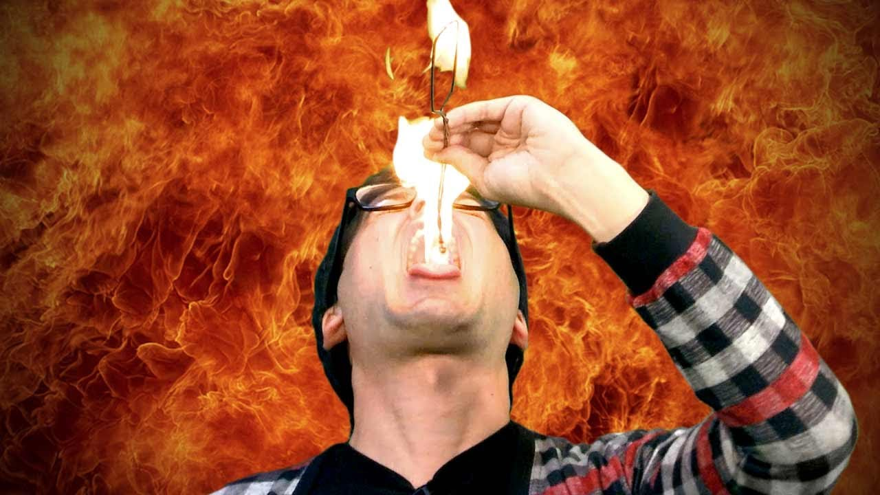 Learn How To EAT FIRE Without Getting Burned!