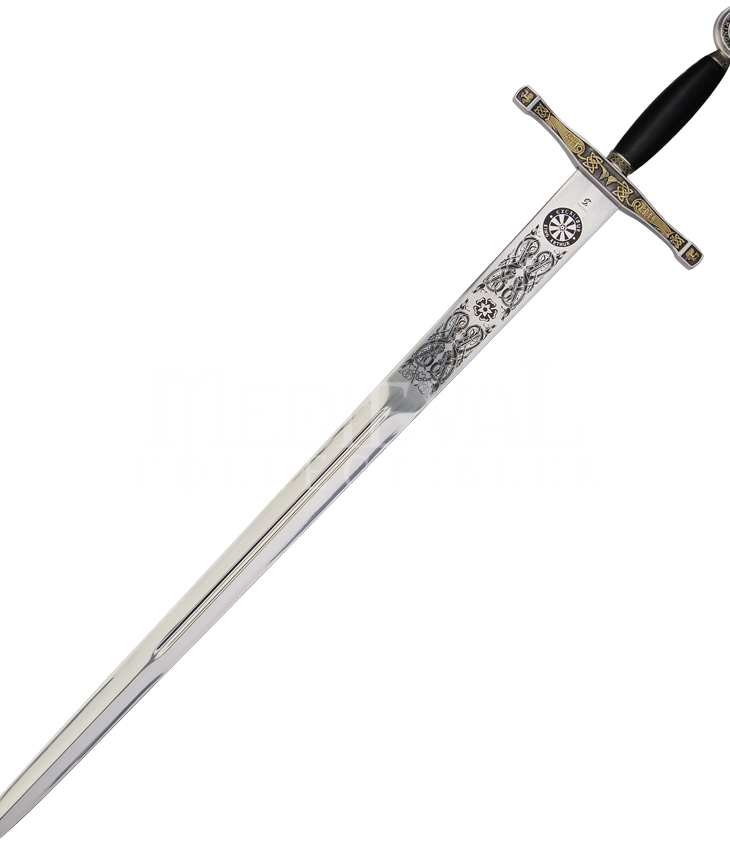 Excalibur is one of the most popular weapons that ever existed. Credits: Medieval Collectibles
