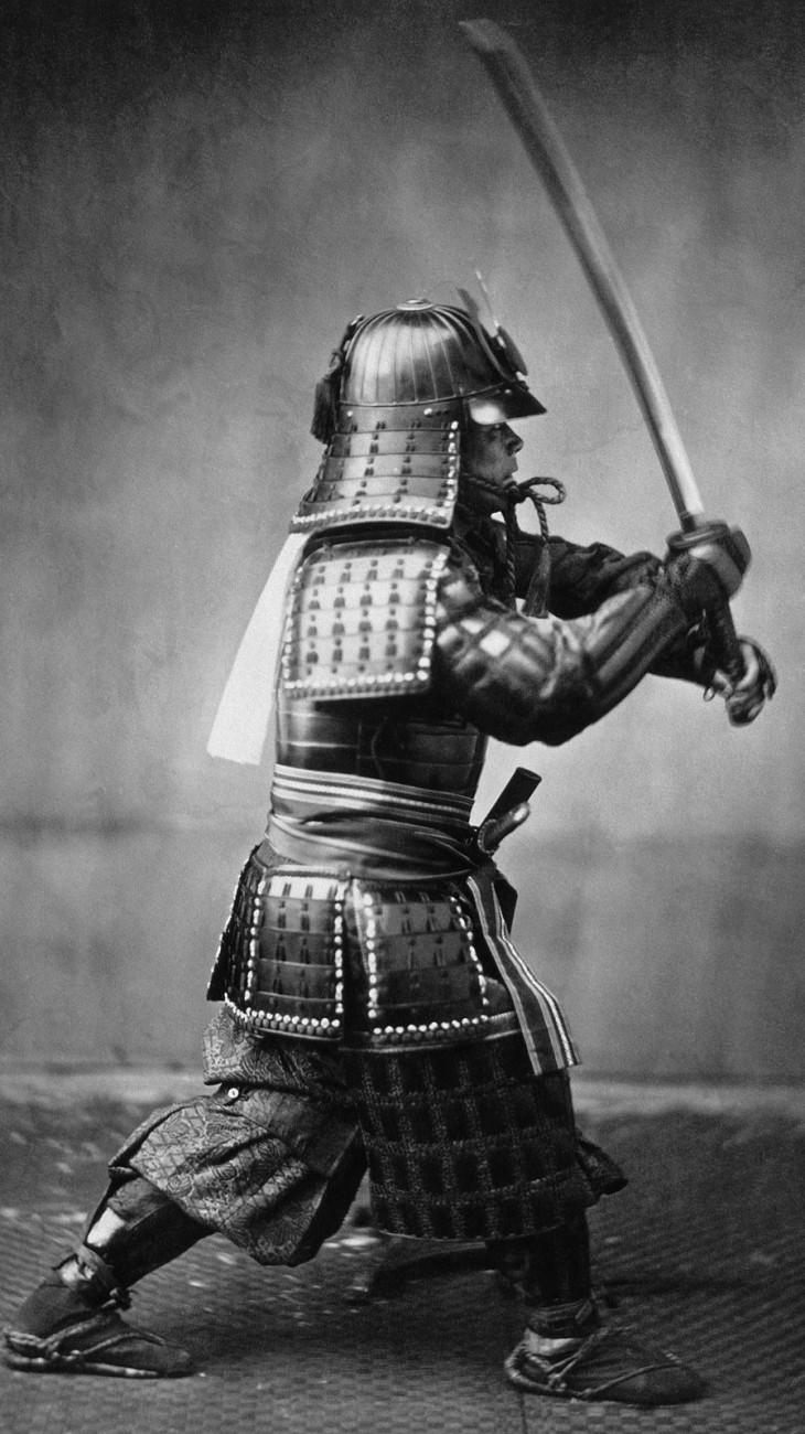 Samurai obeyed their moral and ethical code called Bushido
