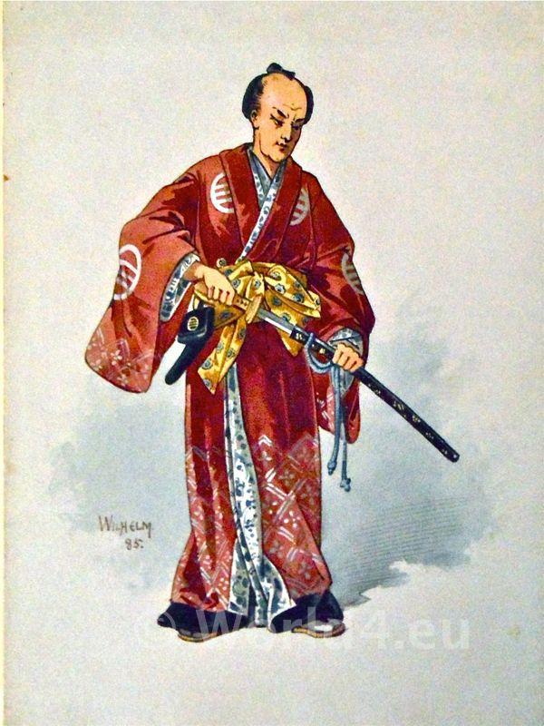 Kimono colors meant different social statuses